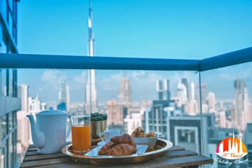 A C Pearl Holiday - The Loft With Burj Khalifa View