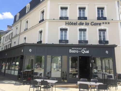 Hôtel de la Gare - Restaurant Bistro Quai - Hôtel - La Roche-sur-Yon