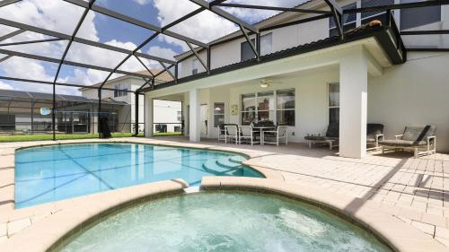 Windsor Hills Luxury Villa Pool/ close to Disney- 2534HS Main image 1