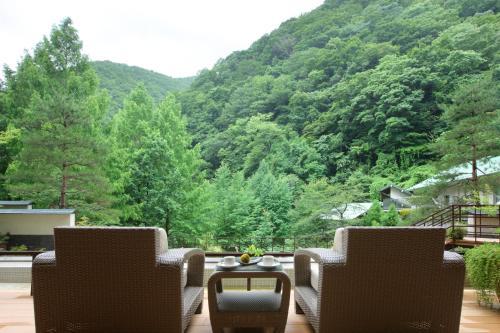 作並溫泉沙龍位置墓酒店 Sakunami Onsen Yuzukushi Salon Ichinobo