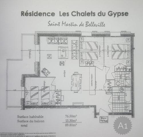 Apartment A 01 in St Martin de Belleville - Hotel - Saint Martin de Belleville