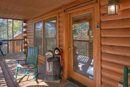 Rustic Elegance  422   Two Bedroom Cabin
