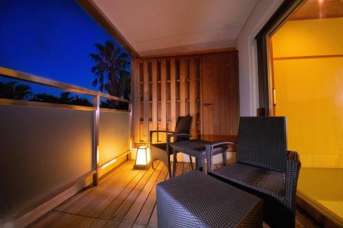 Japanese Modern Suite Room with Open Air Bath