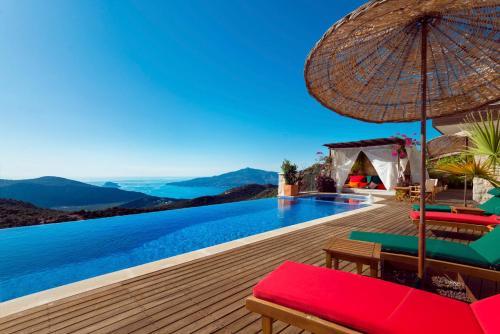 Kalkan Kalkan Villa Sleeps 10 Pool Air Con WiFi address