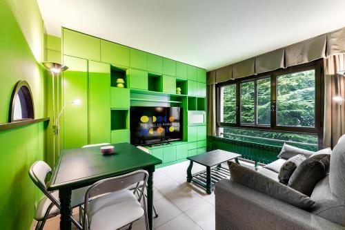. Apartamento verde