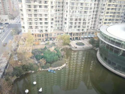 Deluxe Double Room with Side Lake View