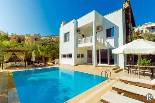Kalkan Kalkan Villa Sleeps 10 Pool Air Con WiFi odalar