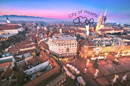 Apartments City of Hearts 1 & 2, 10000 Zagreb