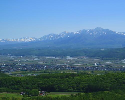 Twin Room with Mt.Tokachi View - Upper Floor - Smoking