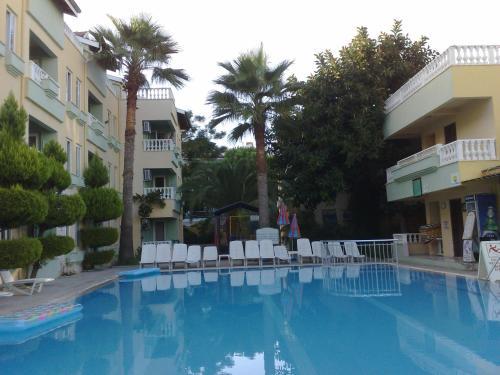 Marmaris Club Sunset Apartments harita