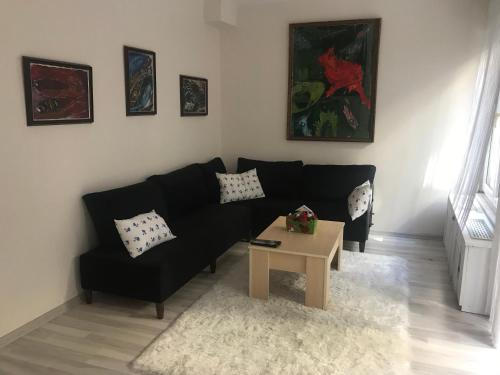 Istanbul Apartment with garden near Besiktas, Macka, Tesvikiye odalar
