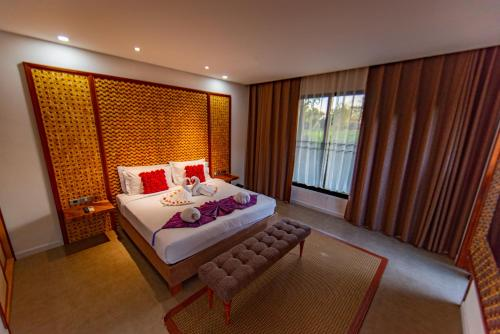 Kamar Double dengan Pemandangan Taman (Double Room with Garden View)