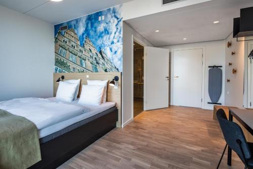 KOMPAS Hotel Aalborg room photos