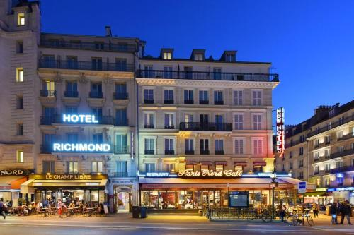 Hotel Richmond Gare du Nord photo 53