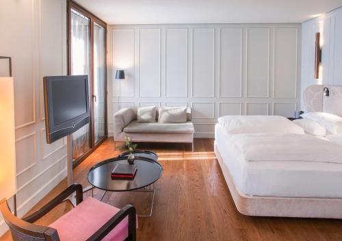 Grand Deluxe Doppel-/Zweibettzimmer Hotel Palacio De Villapanés 9