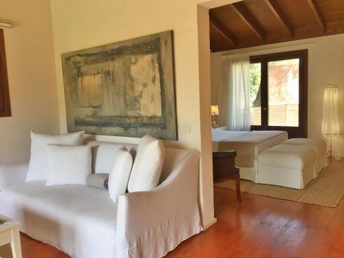 Junior Suite mit Terrasse Hotel Masia La Palma 4