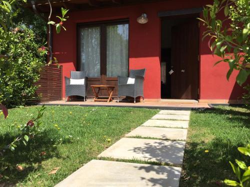 Junior Suite mit Terrasse Hotel Masia La Palma 2