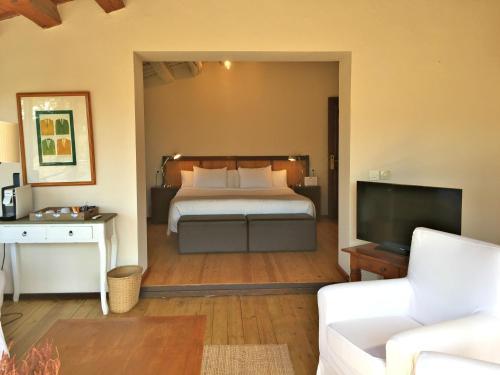 Junior Suite mit Gartenblick Hotel Masia La Palma 1