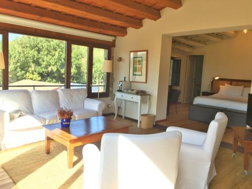 Junior Suite mit Gartenblick Hotel Masia La Palma 9