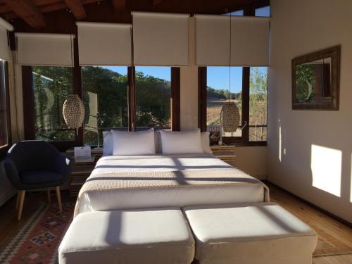 Doppelzimmer mit Gartenblick Hotel Masia La Palma 1