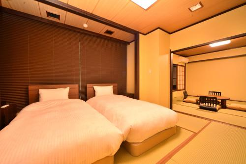 Twin Room with Tatami Area - No View - Breakfast and Dinner Included