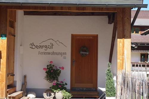Ferienwohnungen Beargzit - Apartment - Oberjoch-Hindelang