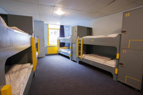 Queensize bed in 32 Person Mixed Dormitory Room