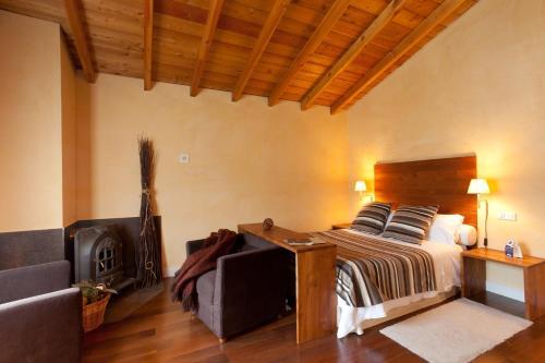 Comfort Doppelzimmer - Einzelnutzung Casa Rural Etxegorri 38