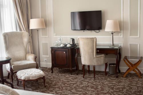 Эрмитаж - официальная гостиница государственного музея Двухместный номер Делюкс с 1 кроватью