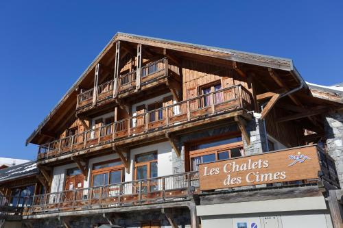 Résidence Néméa Les Chalets Des Cîmes - Accommodation - La Toussuire