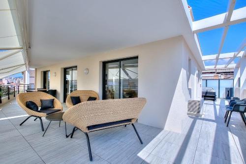Penthouse centre Cannes