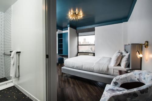 The Hotel @ New York City Номер с 2 кроватями размера «queen-size»