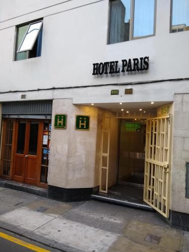 Hotel Hotel Paris Lima