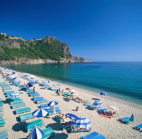 Alanya Cleopatra Beach 3 x badroom apartme online rezervasyon