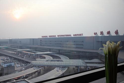 Shanghai Hongqiao Airport Hotel - Air China Двухместный номер Делюкс с 2 отдельными кроватями