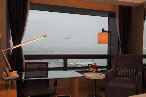 Shanghai Hongqiao Airport Hotel - Air China Специальное предложение для членов клуба — Двухместный номер Делюкс с 1 кроватью