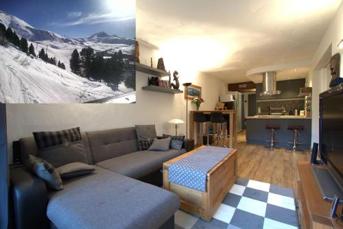 Flat 4* Arc 2000 ski-in ski-out Les Arcs 2000