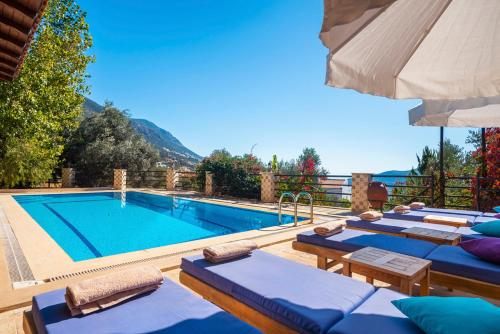 Kalkan Kalkan Villa Sleeps 11 Pool Air Con WiFi taxi