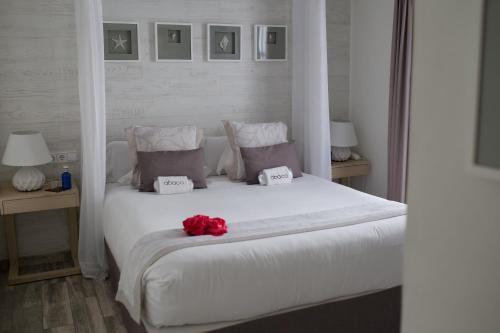Habitación Doble Deluxe con balcón Hotel Abaco Altea 5