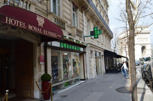 Hotel Royal Elysées photo 58