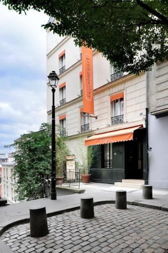 Caulaincourt Montmartre by Hiphophostels impression
