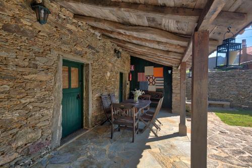Habitación Doble Deluxe - 2 camas - Uso individual Casa Rural Piñeiro, de Vila Sen Vento 17