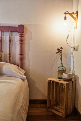 Habitación Superior - 1 cama grande - Uso individual Casa Rural Piñeiro, de Vila Sen Vento 3