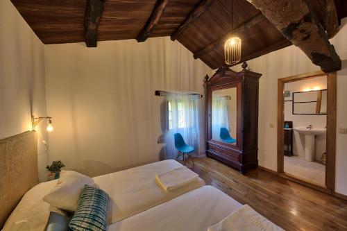 Habitación Doble Deluxe - 2 camas - Uso individual Casa Rural Piñeiro, de Vila Sen Vento 2