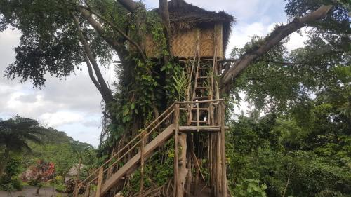 Volcano Sea View Tree House (B&B)