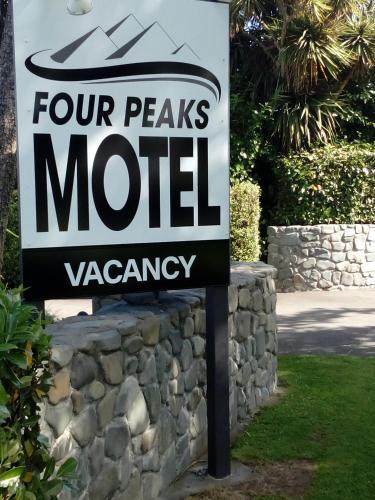 Four Peaks Motel - Accommodation - Geraldine