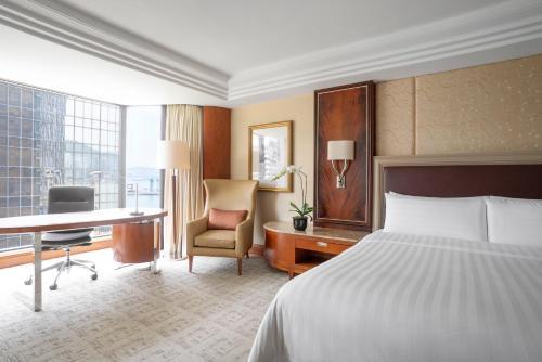Kowloon Shangri-La Двухместный номер Делюкс с 2 отдельными кроватями