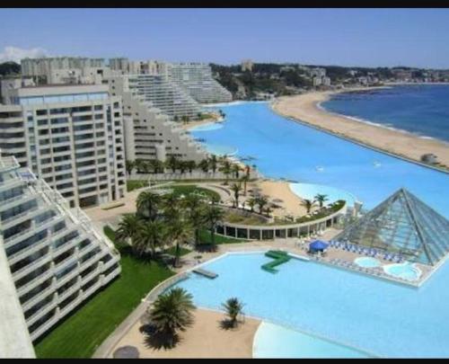 San Alfonso Del Mar Resort >> San Alfonso Del Mar Precioso Departamento Y Vista Algarrobo