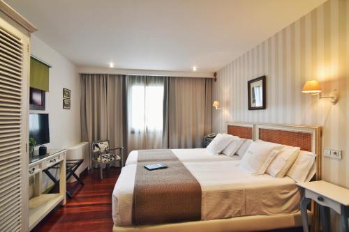 Habitación Doble Hotel Quinta de San Amaro 7