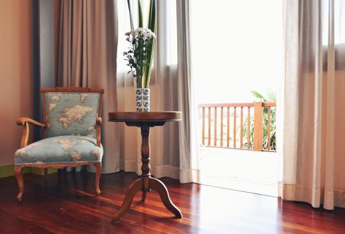 Superior Double Room with Terrace - single occupancy Hotel Quinta de San Amaro 13